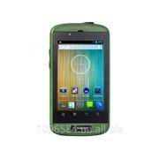 Защищённый смартфон Sigma mobile X-treme PQ12 green-black фото