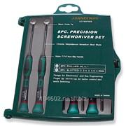 Набор отверток для точной механики шлиц прямой, крест (PH) 8 предметов, код товара: 48815, артикул: D3765P08S