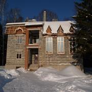 Реконструкция двухэтажного жилого дома фото