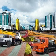 Услуги автокрана Астана фото