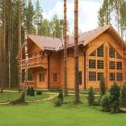 Установка деревянных домов фото