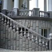 Облицовка фасадов натуральным камнем фото