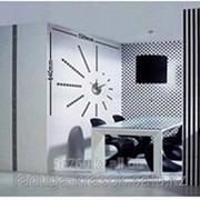 Часы-Стикеры Наклейки размер 52Х64 фото