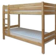 Кровать двухъярусная из сосны №104 90х200 фото