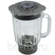 Чаша (кувшин, емкость) стеклянная для блендера Kenwood AT283 1200ml KW714224. Оригинал фото