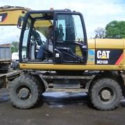 Аренда колёсного экскаватора Caterpillar M315D фото