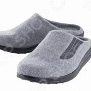 Тапочки домашние Walkmaxx. Цвет: серый фото
