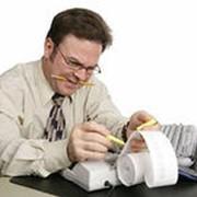 Ведение бухгалтерского и налогового учета фото