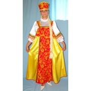 Костюм Лаковая шкатулка (желтый) фото