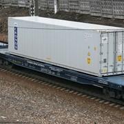 Железнодорожные перевозки грузов универсальными платформами фото