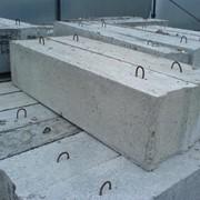 Блок фундаментный фото