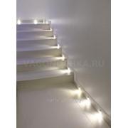 Комплект светодиодных светильников для лестницы GP65 Led 18 kit фото