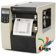 Принтер этикеток Zebra 170Xi4 термотрансферный 300 dpi, LCD, Ethernet, USB, RS-232, LPT, отрезчик, кабель, 170-80E-00103 фото