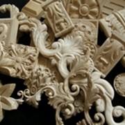 Резной деревянный декор (накладки) для мебели и дверей фото