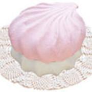 Зефир бело-розовый фото