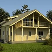 Дома жилые эконом класса - строительство домов из дерева, кирпича, пеноблоков фото