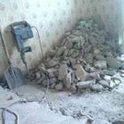Демонтаж бетона фото