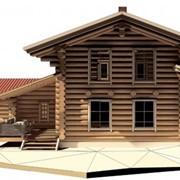 Проектирование домов из бревна фото