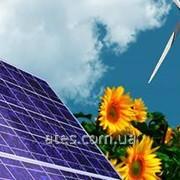 Сетевая солнечная станция 10 кВт фото