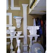 Установка декоративных элементов украшений зданий фото