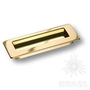 Ручка врезная современная классика, глянцевое золото 3701-100 фото