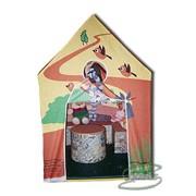 Мебель детская игровая Избушка с мебелью фото
