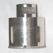 Сверло алмазное по мрамору М14 диаметр 80мм фото