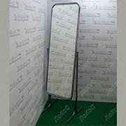 Зеркало напольное с изменением угла наклона 550Lx1700Hх550Dмм, полотно 1400х445мм, 5M-05(белый мато) фото