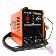 Сварочный трансформатор ELAND TIGs-200 (MOSFET) (mma+argon) фото