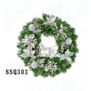 Рождеств венок D30 (цв.серебр) (1/64) фото