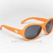 Солнцезащитные очки Babiators Original Ух ты! OMG! оранжевый 0-3 . Арт. BAB-075 фото