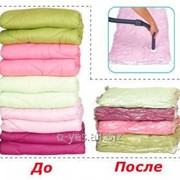 """Пакет для хранения одежды (60х80) """"ВАКУУМ"""" TD-2213 фото"""