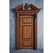 Двери деревянные производство фото