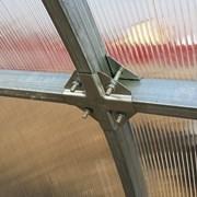 Теплица Сибирская Премиум, соединения: КРАБ 8м фото