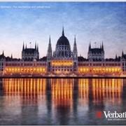 Budapest V3.P Verbatim коврик для мыши, Цветная картинка фото