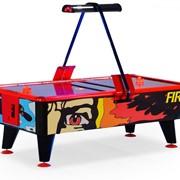 """Игровой стол - аэрохоккей """"Ice & Fire"""" 8 ф (жетоноприемник) фото"""