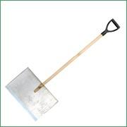 Лопата металлическая трехбортная фото