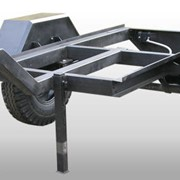 Прицепы для транспортировки строительной техники ПТСТ 1х0,9 БТ фото