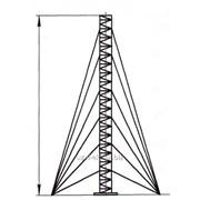 Мачта стальная секционная МСС-40 фото