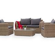 Комплект плетеной мебели Капучино Сингл фото