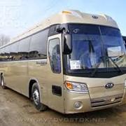 Туристический автобус KIA Granbird фото