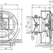Центробежные дутьевые вентиляторы одностороннего всасывания типа ВДН фото