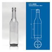 Стеклянная тара для напитков В-31-4-500 СТД фото