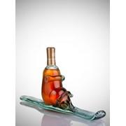 "Бутылка коньчная ""лыжа"" фото"