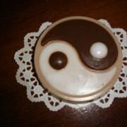 Мыло в форме знака Инь-Ян фото