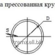 Труба прессованная круглая шифр профиля: 01/0310 D, мм 20 S, мм 3 фото
