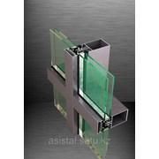 Системы фасадного остекления FC50 AS1 и FC50 AST1 фото