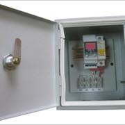 Устройство защитного отключения для однофазных электрических сетей ПЗР2-3-1 фото