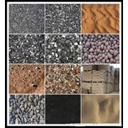 Услуги по доставке песка мелкого и крупного, дресва, щебня, грунта. фото