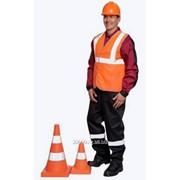 Жилет сигнальный Габарит ярко-оранжевый Артикул: 03284 фото